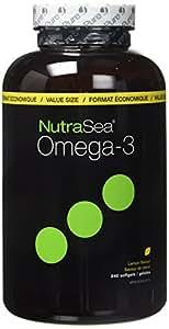 Nutrasea - Omega-3 - Lemon Flavor - 240 Softgels