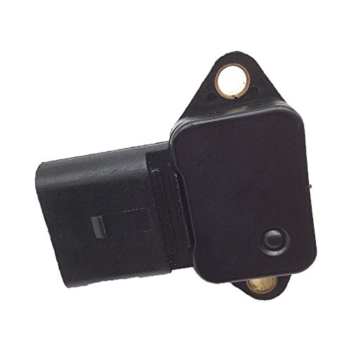 Bernard Bertha New For VW Golf MK3 MK4 Vento Bora Polo 1.2 1.6 1.4 16V Intake Manifold Pressure Sensor Map 036906051 03D906051 ()