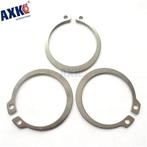 Nuts Huscus 100pcs 3mm 4mm 5mm 6mm 8mm Gb894 Gourd Type Washer 304 Stainless Steel C-Type Elastic Ring External Circlip Snap Retaining Size: 50PCS
