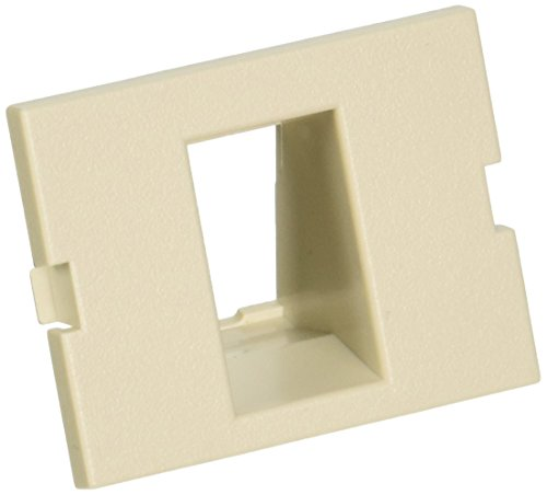 (Hubbell IM1IA15OW iSTATION Recessed Module, 1 Port, Unloaded, 1.5U, Office White)