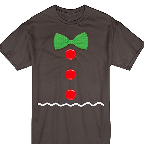 Gingerbread Man Costume Christmas Ginja Gingerbread Cookie Xmas Party Gift Customized Handmade T-Shirt Hoodie/Long Sleeve/Tank Top/Sweatshirt]()