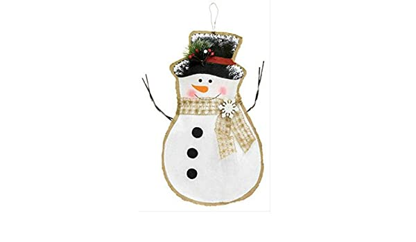 Amazon Com 21 Mr Frosty Snowman Door Hanger Christmas Snowman