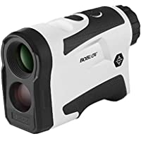 BOBLOV Golf Rangefinder 650Yards Flag Lock 6 x Magnification Distance Speed Measure Support Vibration On/Off USB Charging