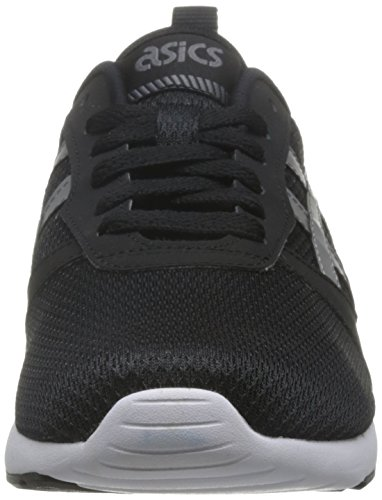 ASICS Uomo Nero/Carbon Lyte Jogger Sneaker-UK 8