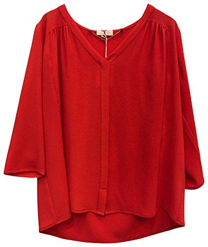 Rouge Camicia Clio rouge Donna Louizon wP6txTqt