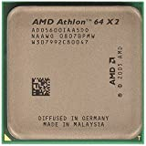 AMD Athlon 64 X2 5600+ Brisbane 2.9GHz 2 x 512KB L2 Cache Socket AM2 65W Dual-Core Processor