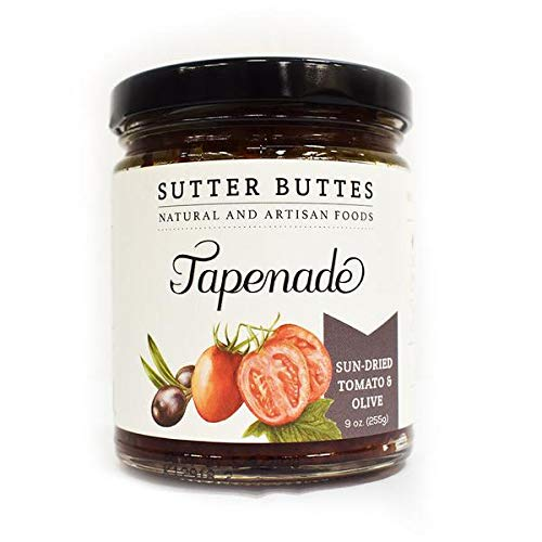 SUTTER BUTTES SUN-DRIED TOMATO AND OLIVE TAPENADE 9 OZ. by Sutter Buttes