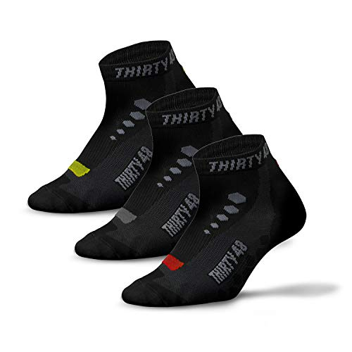 Thirty 48 Cycling Socks for Men and Women | Unisex Breathable Sport Socks