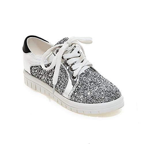 White Invierno Zapatos PU Comfort Gold Black Creepers Poliuretano ZHZNVX y Sneakers Otoño Black Mujer de x7qa00dwBp