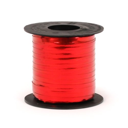 Berwick GL12513 Crimped Glitter Curling Ribbon, 3/16-Inch Wide by 250-Yard Spool, Red by Berwick