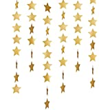 Outus Star Paper Garland Bunting Banner Hanging Garland Christmas Decoration Wedding Birthday ...