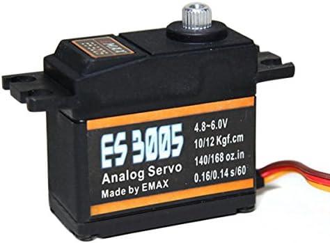 Waterproof EMAX ES3005 Metal Waterproof Analog Servo for RC Airplane JR Futaba