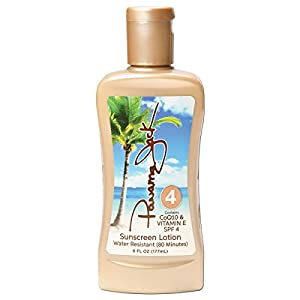 Panama Jack Sunscreen Tanning Lotion SPF 4