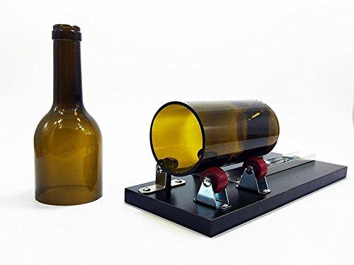 Madera herramienta de corte cortador de botella de vidrio, botellas de vino gotiteni para lámpara de creación de botella de vino, botella de vino ...