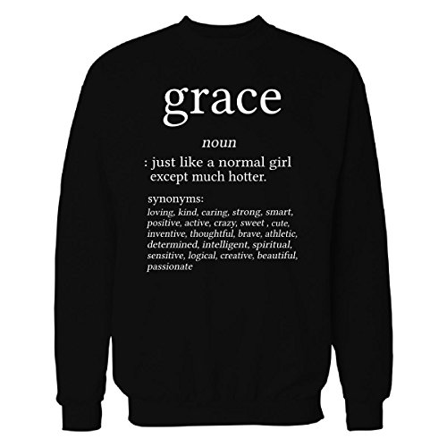 Grace Name Meaning. Dictionary Format. Funny Gift - Sweatshirt