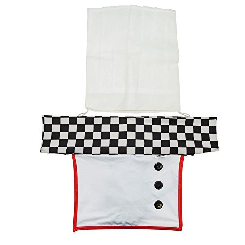 [CandyMan 99077 Candyman Naughty Chef Costume Outfit. Color Only color Size XL] (Mens Bedroom Costumes)