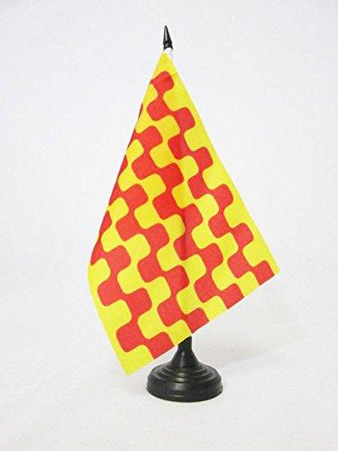 AZ FLAG Bandera de Mesa de TARRAGONA 21x14cm - BANDERINA de ...
