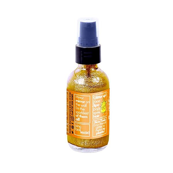 Unicorn Sparkles Eco Glitter Gel. Make up for Face Eyes Lips Body Shimmer, Hair. Glitter Face Mask. Moisturizing Aloe… 8