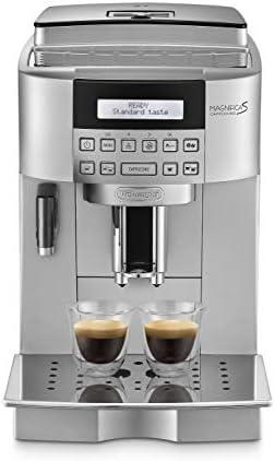 Delonghi Magnifica S Ecam 22.360.s - Cafetera superautomática, 15 bar de presión, lattecrema system, limpieza automática, pantalla lcd, color plata: Amazon.es: Informática