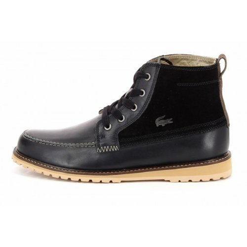 1bee8c09dc7264 Lacoste Men s Marceau 4 SRM Leather Suede Boots (8