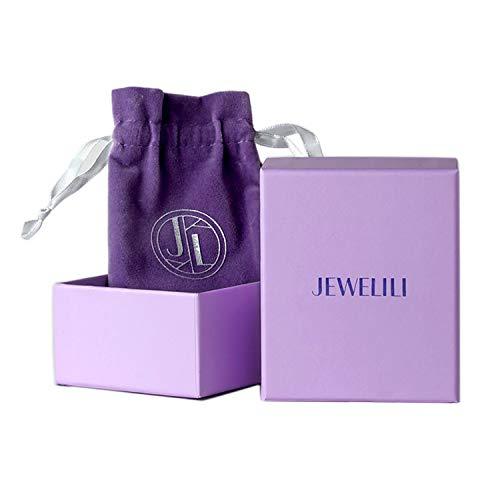 Jewelili Sterling Silver Cubic Zirconia Round, 3-Stone Bridal Set, Size 8