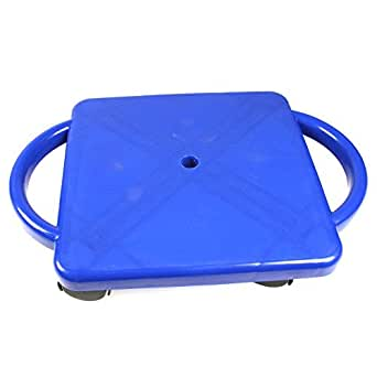 ETA hand2mind Plastic Scooter Board with Handles - Blue