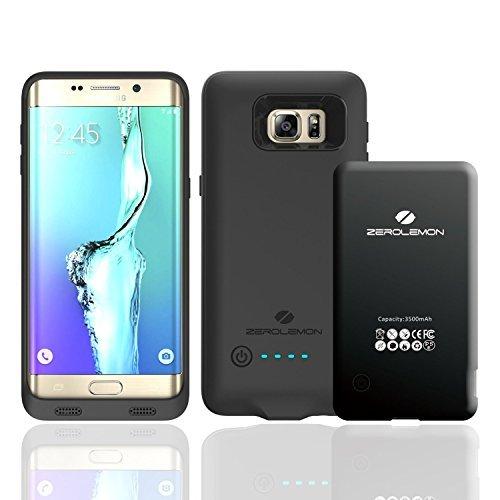 Samsung Galaxy S6 Edge Plus Battery Case,ZeroLemon 3500mAh slim capability Battery condition for Samsung Galaxy S6 Edge Plus,(Fits All Versions of Galaxy S6 Edge Plus)-Black