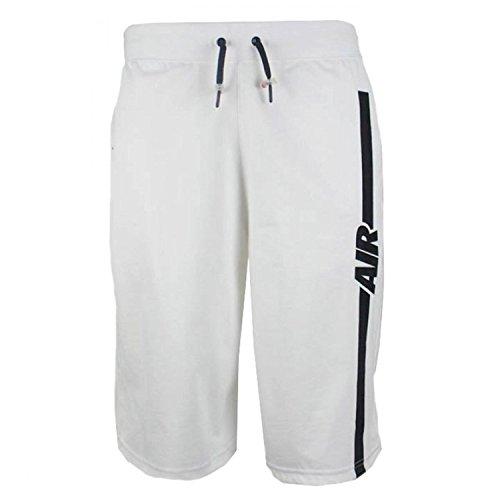 Pantal¨®n corto Nike Mens Air Pivot V3 blanco / negro 728275-100 talla X-grande