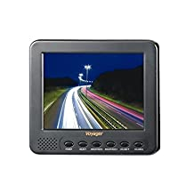 Voyager AOM562A Observation Monitor 5.6 LCD; High performance 5.6 color TFT LCD panel; Built-in speaker; Front controls; Compatible with all Voyager NTSC cameras; Monitor Dimensions 5-7/8W x 5-1/4H x 1-1/4D; UPC Code 681787014666