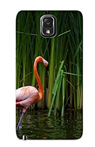 Crazylove Case Cover Protector Specially Made For Galaxy Note 3 Pair Of Flamingos