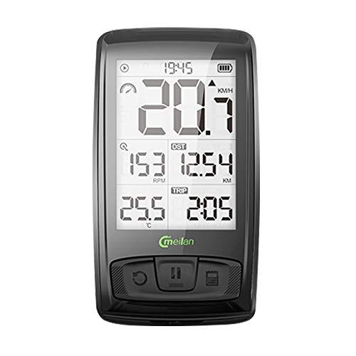 VAXT M4 IPX5 Raincoat Bluetooth V4.0 Radiocommunication Bike Computer Cycling Stopwatch Speedometer Speed Cadence Sensor Odometer with 2.5 inch Screen