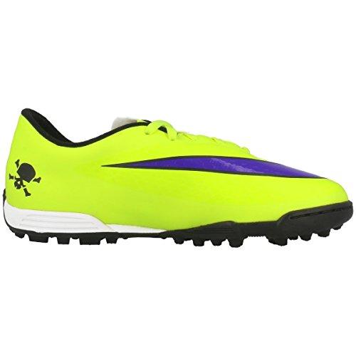 Nike JR Hypervenom Phade TF Kinder Fussballschuhe volt-persian violet- ht lv black- 38