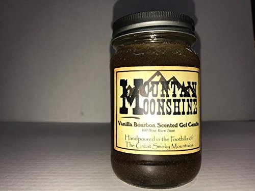 The Candle Cottage Mountain Moonshine Vanilla Bourbon Scented Gel Candle by ()