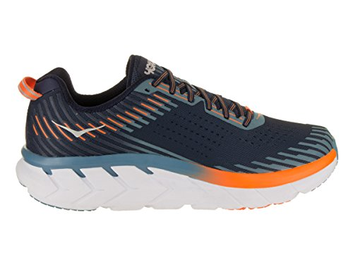 Storm Hombre Textile Iris Synthetic Hoka One Clifton Entrenadores Blue 5 Black One ASxvwqa