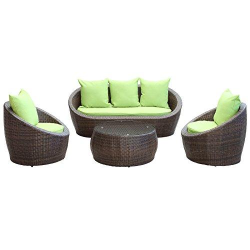 ofa Set with Green Cushion ()