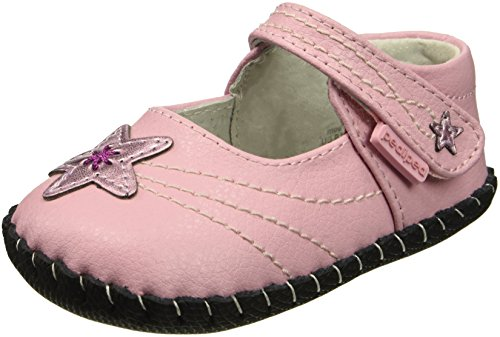 Pediped Infant Shoes - pediped Girls' Starlite Crib Shoe, Pink, 18-24 Months Child EU Infant (18-24 Months US)