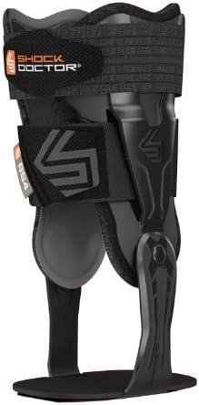White Large Shock Doctor V-Flex Ankle Brace