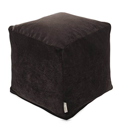 Footstool Bag Bean (Majestic Home Goods Villa Storm Small Cube)