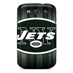 Anti-Scratch Hard Phone Covers For Samsung Galaxy S3 With Unique Design High Resolution New York Jets Series LauraAdamicska