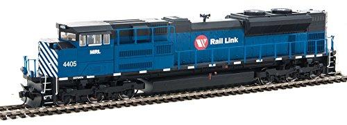 Ho Montana Rail Link (Walthers-EMD SD70ACe - SoundTraxx(R) Sound & DCC -- Montana Rail Link #4405 (blu)