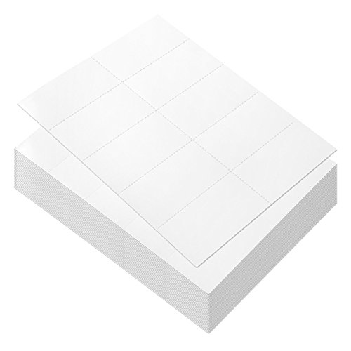 1000 blank white cards - 3