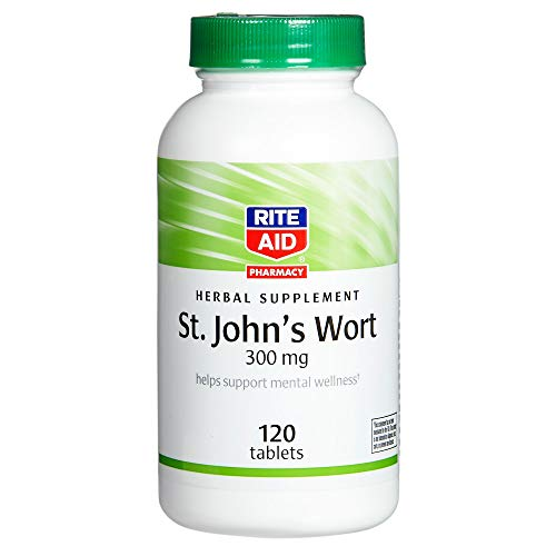 Rite Aid St. John's Wort, 300 mg – 120 Count | Positive Mood Booster