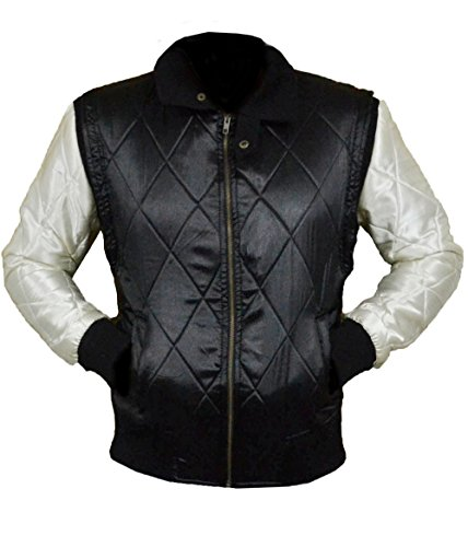 XXS Satin White Scorpion Drive SILVER Scorpion SLEEVES Gosling Jacket Black 5XL wCt0wqFxp