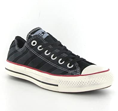 99d6fa067a82 Converse Ct All Star Stonewash OX Black White Womens Trainers Size 8 ...