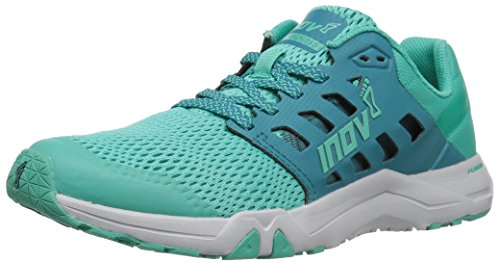 Women's 215 Trainer Shoe 8 Teal Cross Train Grey All Inov qgPRwUR