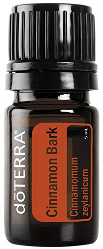 doTERRA - Cinnamon Bark Essential Oil - Supports Healthy Metabolic Function, Maintains a Healthy Immune System, Naturally Repels Insects; for Diffusion, Internal, or Topical Use - 5 mL