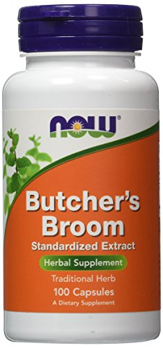 NOW Foods Butchers Broom, 100 Capsules / 200mg