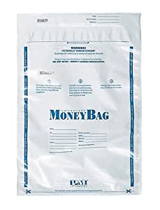 PM Company 997278 12x16 White Deposit Bags  - 100
