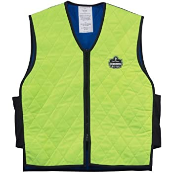 Ergodyne Chill-Its 6665 Evaporative Cooling Vest - Lime, X-Large