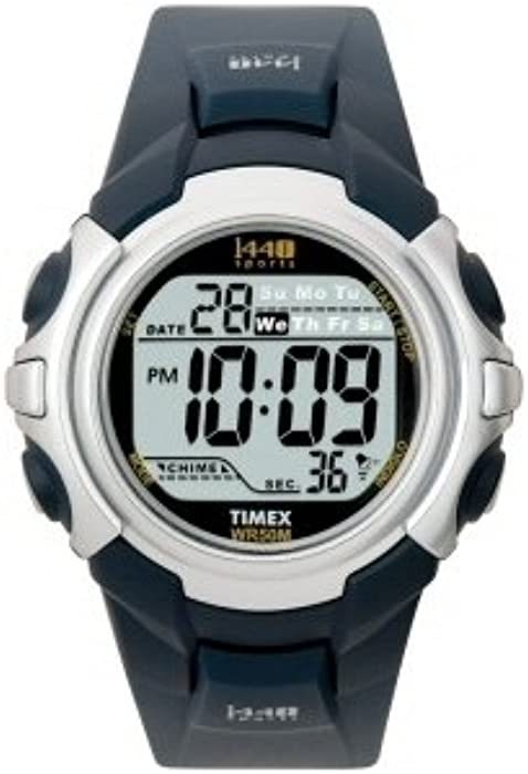 00ab7776cf1 Amazon.com  Timex Men s T5J571 1440 Sport Watch with Blue Band ...